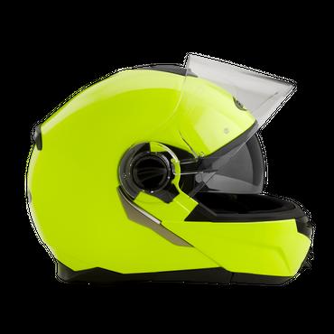 Rocc 680 Uni - Neongelb - Klapphelm mit Sonnenblende – Bild 2