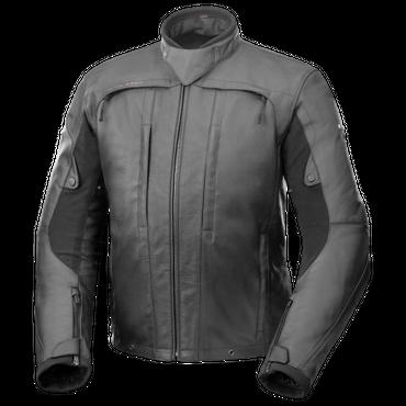 Büse Nogaro STX Leder-Motorradjacke in schwarz – Bild 1
