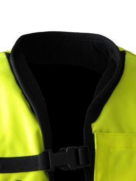 Helite Airnest Hi-Vis Motorrad Airbagweste in gelb – Bild 4