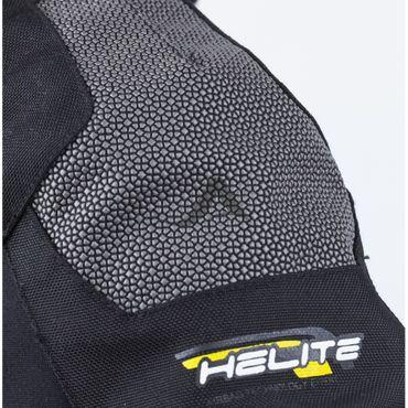 Helite TOURING Motorrad Jacke B mit Airbag in grau-schwarz - Airbagjacke – Bild 4