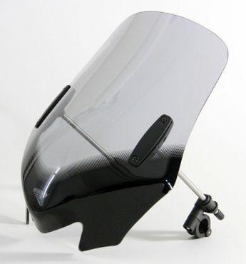 """MRA Motorradscheibe für KAWASAKI Zephyr 550, 750 + 1100 - V-Flow Screen """"Z"""" in schwarz - alle Baujahre inkl. ABE – Bild 3"""