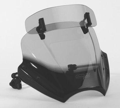 """MRA Motorradscheibe für KAWASAKI ZR 7 - VarioTouringScreen for Naked Bike """"VTNB"""" in farblos - alle Baujahre inkl. ABE – Bild 2"""
