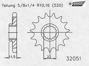 Regina KTM 690 SMC R `12- Kettensatz – Bild 2