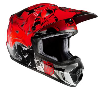HJC CS-MX II - GRAFFED / MC1SF - Crosshelm / Endurohelm / Motorradhelm