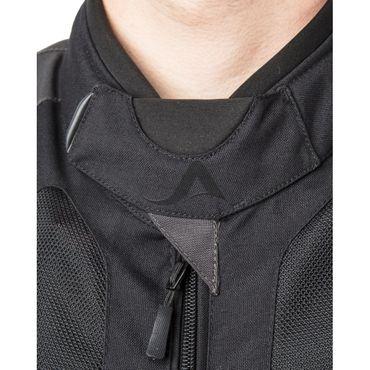Helite Vented Blouson Jacke mit Airbag in schwarz-grau - Airbagjacke – Bild 2