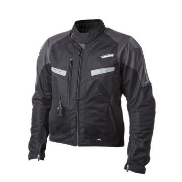 Helite Vented Blouson Jacke mit Airbag in schwarz-grau - Airbagjacke – Bild 1