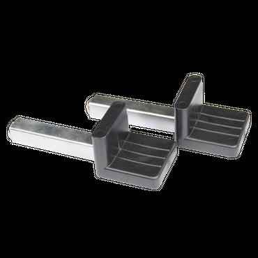 BASTEF L-Aufnahme Adapter für Universal Montageständer / Motorradständer