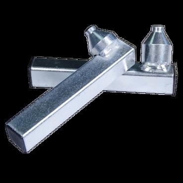 BASTEF Gabel mit Asymethrischer Bohrung Adapter für Universal Montageständer / Motorradständer