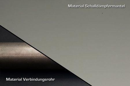 Bodis Exhaust V4-M-CA Slip-On Edelstahl Schwarz für Suzuki GSX-R 1000 17- – Bild 2