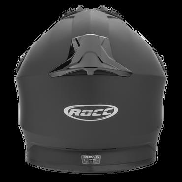 Rocc 740 Uni - Matt Schwarz - Endurohelm / Crosshelm – Bild 2