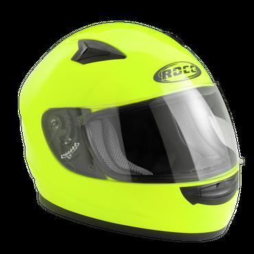 Rocc 380 Junior Uni - Neongelb - Kinderhelm / Integralhelm