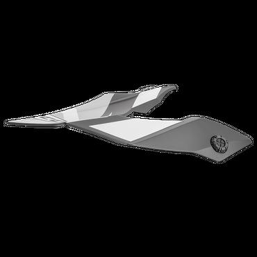 Rocc 751 Helmschirm - Schwarz / Grau