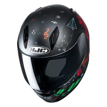 HJC CL-Y - WAZO / MC1SF - Integralhelm / Kinder-Motorradhelm – Bild 2