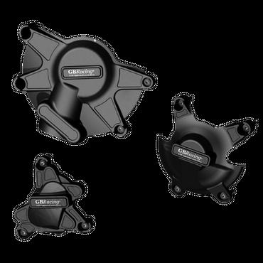 GB Racing Motor Protektor Kit Motordeckelschützer für Yamaha YZF R1 2009-2014