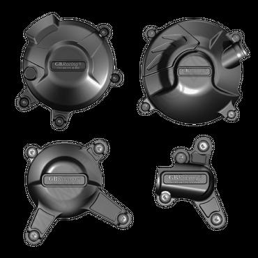 GB Racing Motor Protektor Kit Motordeckelschützer für Yamaha XSR 900 / Tracer 900
