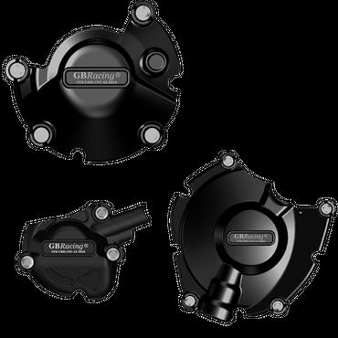 GB Racing Motor Protektor Kit Motordeckelschützer für Yamaha MT-10 2016-