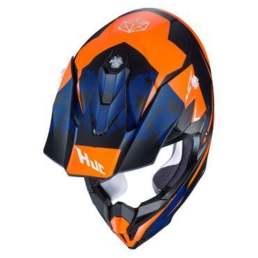 HJC i50 - TONA / MC7SF - Crosshelm / Endurohelm / Motorradhelm – Bild 2