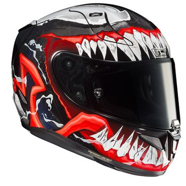HJC RPHA 11 - VENOM II MARVEL / MC1 - Integralhelm / Sporthelm – Bild 4