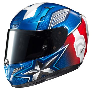 HJC RPHA 11 - CAPTAIN AMERICA / MC2 - Integralhelm / Sporthelm – Bild 1