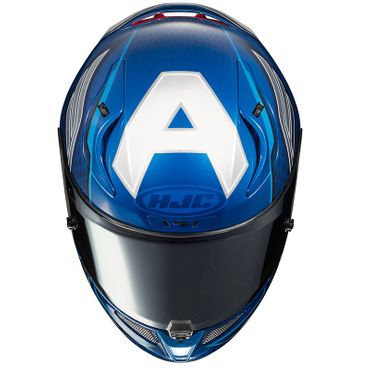 HJC RPHA 11 - CAPTAIN AMERICA / MC2 - Integralhelm / Sporthelm – Bild 4