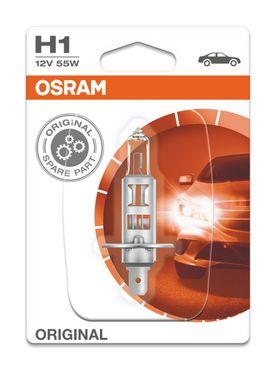 OSRAM H1 ORIGINAL 12V 55W Scheinwerfer Lampe - P14.5s