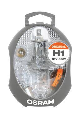 OSRAM H1 ORIGINAL Ersatzlampenbox Lampenset