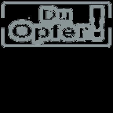 DU OPFER ! Autoaufkleber Motorradaufkleber Aufkleber Sticker - 19cm – Bild 8