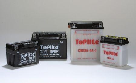 ToPlite Gel Batterie - Typ YT9-B4 = YT9B-BS Derbi MBK Yamaha